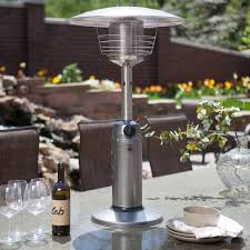 Patio Gas Heaters by Az Patio Heater Stainless Steel Glass Tube Tabletop Heater Hayneedle