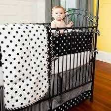 Black And White Crib Bedding For Boys Black And White Crib Bedding Sets Highlight Custom Creations