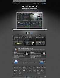 the apple website finalcut web templates free psd in photoshop psd
