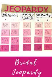 25 best bachelorette jeopardy ideas on pinterest bridal games