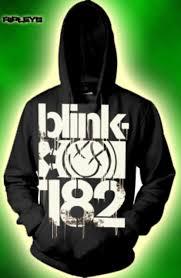 Blink 182 Halloween Shirt by Official Blink 182 Hoody Hoodie Logo 3 Bars Smiley Xl