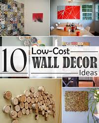 home wall decorating ideas 10 low cost wall decor ideas that completely transform the interior