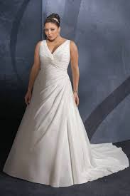wedding dresses plus size uk draping princess v neck ruching organza wedding gown uk plus size