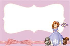 princess sofia party invitations free printables