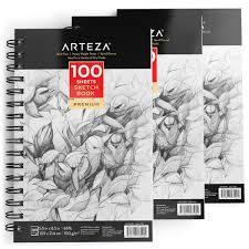 arteza sketch book 5 5x8 5