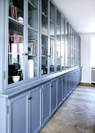 fabulous maple kitchen cabinets and blue wall color decorating
