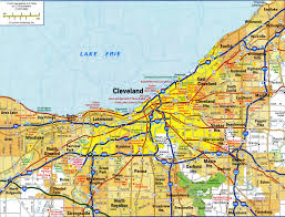 Ohio City Map Where Is Ohio Located Location Map Of Ohio Usa Printable Map