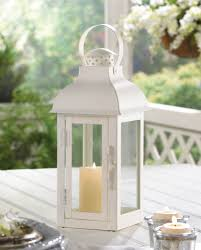 wholesale medium white lantern candle holder centerpiece cheap