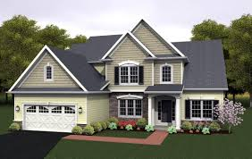 New American Home Plans by House Plan 54080 At Familyhomeplans Com
