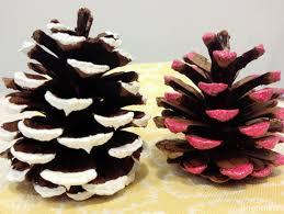 Pinecone Brightnest Holiday Decor Pimp Out Your Pinecones