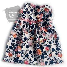 nuwyne kids children classic floral dress cart rollers