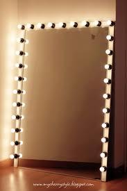 Makeup Vanity Light Diy Vanity Light Mirror Easy Amp Quick Lisapullano Youtube Diy