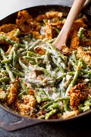 happy thanksgiving lol creamy green bean casserole from scratch sallys baking addiction
