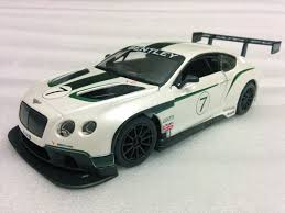 bentley sports car white bburago 1 24 bentley continental gt3 7 race car diecast display