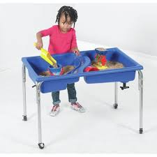 water table for 1 year old children s factory neptune rectangle sand water table reviews