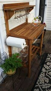 Potting Bench Ikea Best 25 Outdoor Bar Cart Ideas On Pinterest Potting Bench Bar