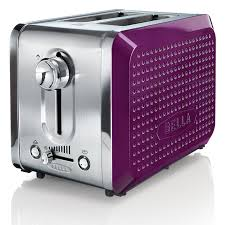 Nfl Toaster 24 99 Bella Dots 2 Slice Toaster Purple Appliances Small