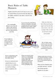 table manners worksheet defendusinbattleblog