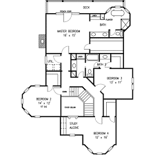 Victorian Floorplans Victorian Style House Plan 4 Beds 2 50 Baths 3163 Sq Ft Plan