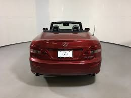 price of lexus hardtop convertible 2014 used lexus is 250c 2dr convertible at scottsdale ferrari