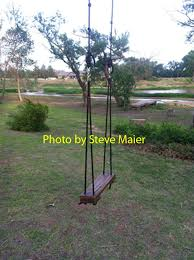 how to build a rope tree swing part 2