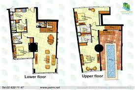 3 bedroom townhouse floor plan of oceanscape al reem island