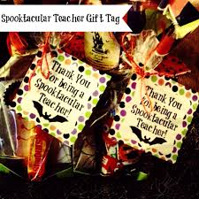halloween teacher gift tags u2013 festival collections