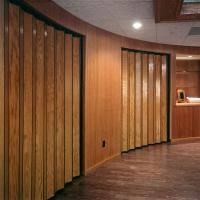 Accordion Room Dividers by Woodfold Accordion Doors Series 240 Space Management Products