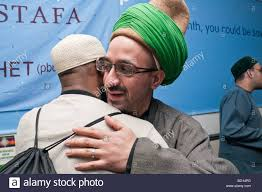 greet each other at eid milad un nabi celebrations at sunni
