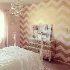 Chevron Bedrooms Sweet Idea Pink And Gold Bedroom Decor Bedroom Ideas