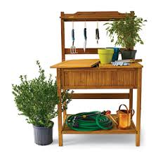 Plant Bench Plans - 16 potting bench plans to make gardening work easy the self