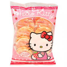 kitty strawberry senbei rice cracker 2 47 oz kitty