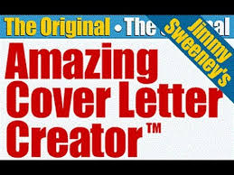 Resume Cover Letter Creator by Jimmy Sweeney Cover Letters Cover Letter Builder Ebestproducts