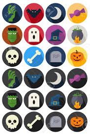 free halloween icon flat icons halloween royalty free cliparts vectors and stock