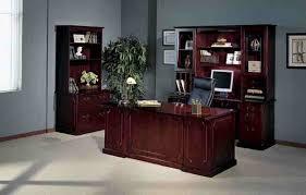 Traditional Office Desks Mayline Toscana Series Veneer Traditional Office Furniture
