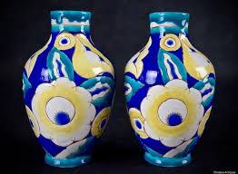 Deco Vase Charles Catteau Art Deco Vases D 1558 F 675 Keramis Vase