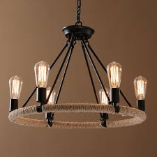 9 Bulb Chandelier Edison Light Bulb Chandelier View Inside Designs 5