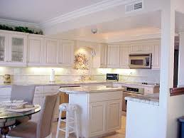 kitchen splendid marble countertop and ledlighting and a dining
