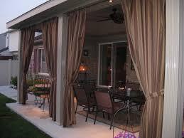 Outdoor Cabana Curtains Decorating Sunbrella Outdoor Curtains With Weights Outdoor Sheer