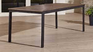 Wood Rectangle Dining Table Rocha Ii Rectangular Dining Table In Furniture Reviews Tables