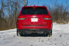 red jeep 2017 2017 jeep grand cherokee trailhawk review autoguide com news