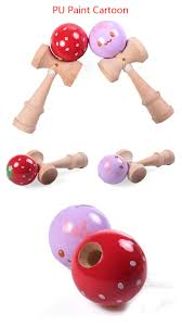 wholesale wood craft kendama flying ball toy supplies the wood