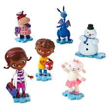 amazon com disney doc mcstuffins collectible 6 piece figurine
