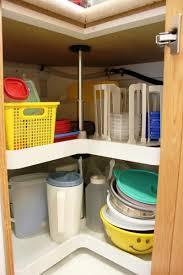 organize lazy susan base cabinet organizing lazy susans