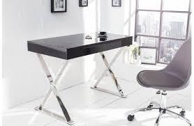 bureau design noir bureau en verre design fresh bureau design noir xant