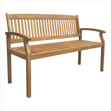 find mimosa 130cm hampsted timber bench at bunnings warehouse