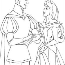sleeping beauty coloring pages princess wedding disney wedding
