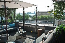 rooftop lounge and sushi bar luxury new york hotel flatiron