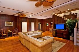 Rattan Rug Living Room Decor Pictures Features Hawaiian Style Decor And