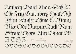 schrift design 70 jahre schrift design linotype font beitrag